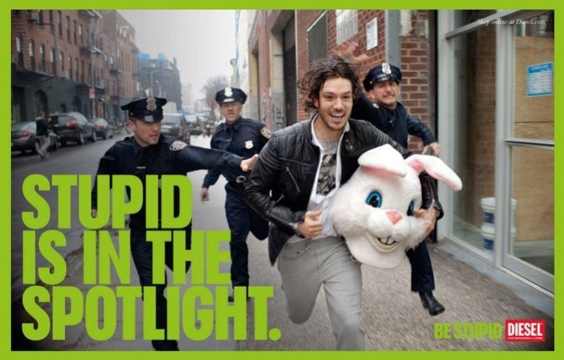 Be Stupid – Die Diesel Werbekampagne aus dem Jahre 2010